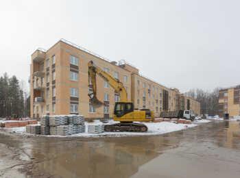 фото строительства жк Юнтолово Март 2019