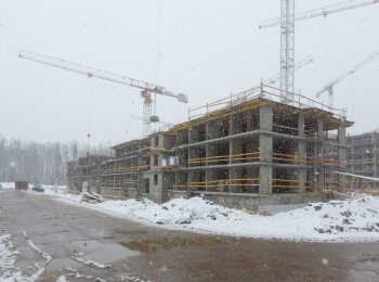 ЖК Юнтолово ход строительства - Март 2019