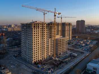 жилой комплекс Галактика Премиум ход строительства - Декабрь 2019