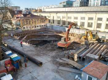 жилой комплекс Октавия ход строительства - Январь 2020