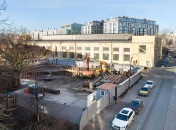 ЖК Октавия ход строительства - Январь 2020