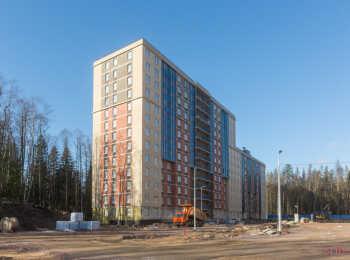 фото строительства жк Юнтолово Февраль 2020