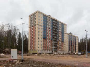 жилой комплекс Юнтолово ход строительства - Февраль 2020