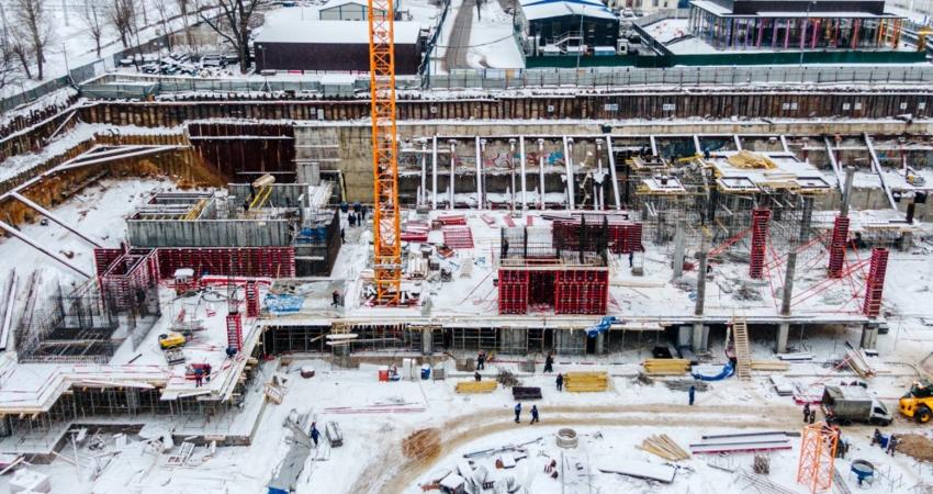 ЖК Victory Park Residences ход строительства - Январь 2021
