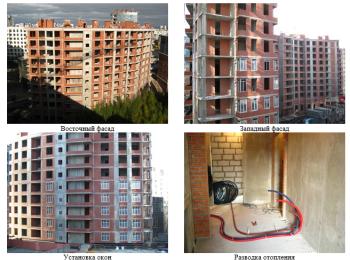 жилой комплекс Премьер Палас ход строительства - Сентябрь 2017