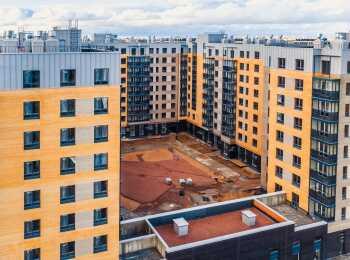 жилой комплекс NewПитер ход строительства - Сентябрь 2021