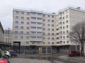 жилой комплекс Дом на Киевской ход строительства - Апрель 2018