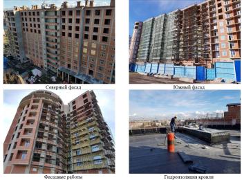жилой комплекс Премьер Палас ход строительства - Апрель 2018