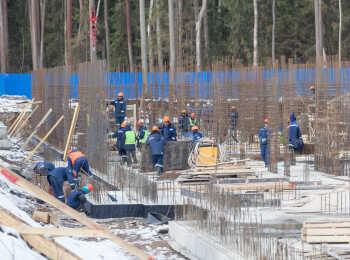 ЖК Юнтолово ход строительства - Март 2018