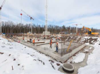 Юнтолово ход строительства на Март 2018
