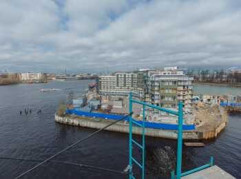 жилой комплекс Royal Park ход строительства - Апрель 2018