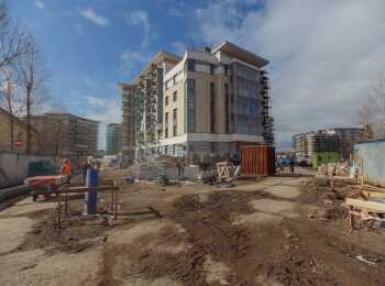 Royal Park ход строительства на Апрель 2018