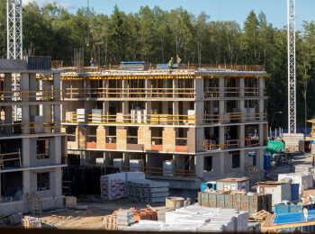 ЖК Юнтолово ход строительства - Июнь 2018