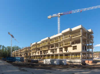 Юнтолово ход строительства на Июнь 2018
