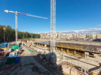 фото строительства жк Юнтолово Июнь 2018