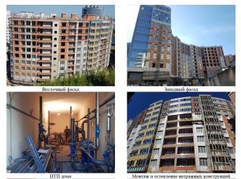 жилой комплекс Премьер Палас ход строительства - Июнь 2018