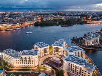 жилой комплекс Royal Park ход строительства - Сентябрь 2018