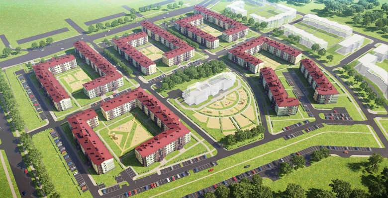 1-комнатные квартиры в ЖК Образцовый квартал 8