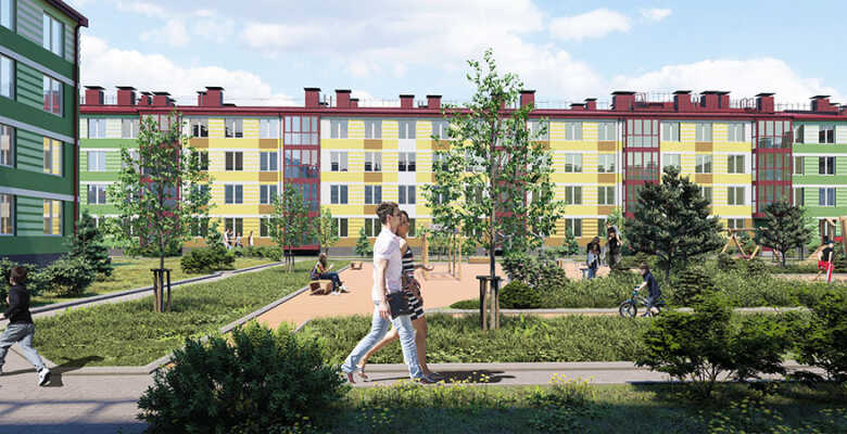 1-комнатные квартиры в ЖК Образцовый квартал 9