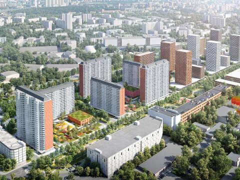 Старт продаж финальной очереди в ЖК Кварталы 21/19 Квартиры от 5,5 млн рублей,