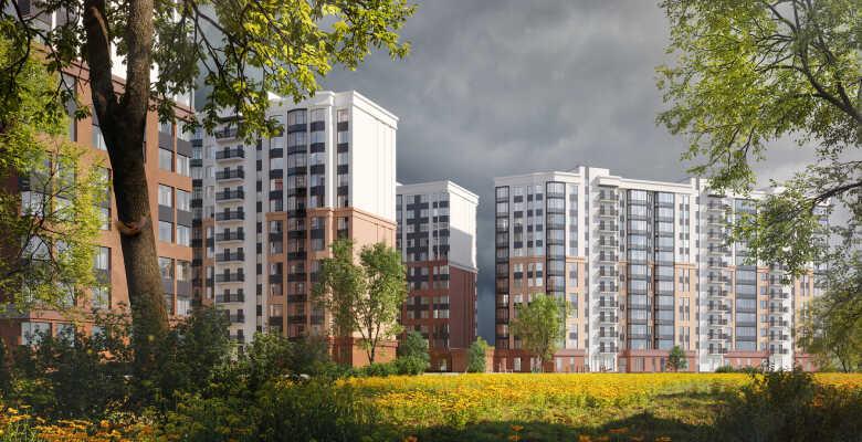 2-комнатные квартиры в ЖК ID Murino II (Айди Мурино 2)
