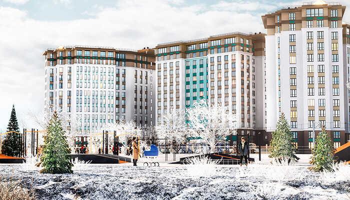 2-комнатные квартиры в ЖК Начало