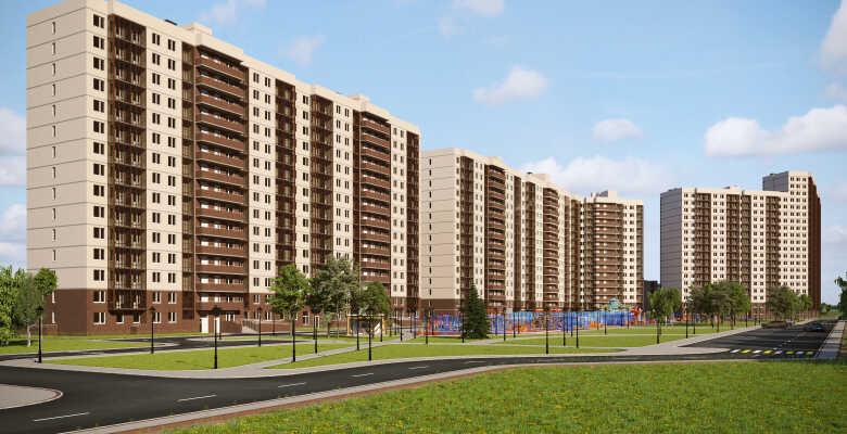 1-комнатные квартиры в ЖК Стороны света