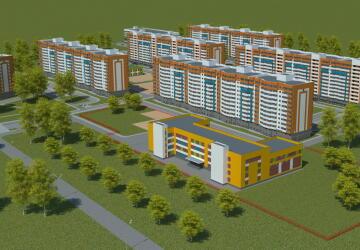 2-комнатные квартиры в ЖК Яркий