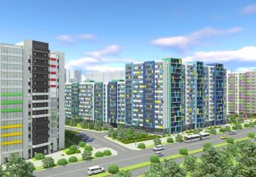 3-комнатные квартиры в ЖК Вернисаж