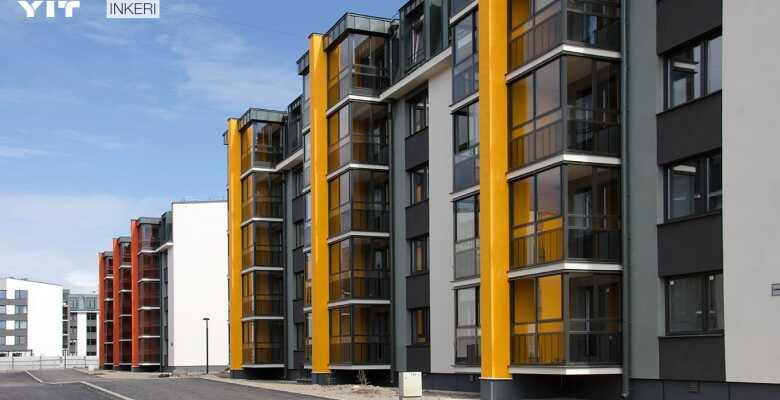 1-комнатные квартиры в ЖК Inkeri (Инкери)