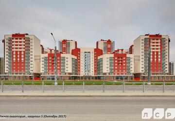 3-комнатные квартиры в ЖК Южная акватория (Паруса)