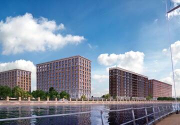 3-комнатные квартиры в ЖК Docklands (Докландс)