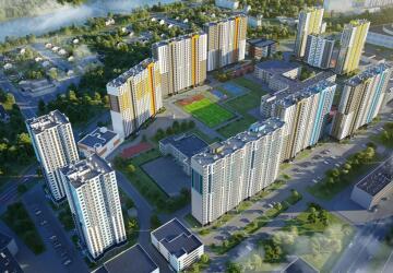 1-комнатные квартиры в ЖК Цветной город