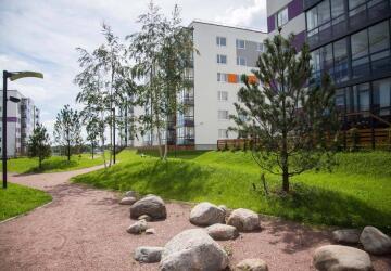 1-комнатные квартиры в ЖК Grona Lund (Грона Лунд)