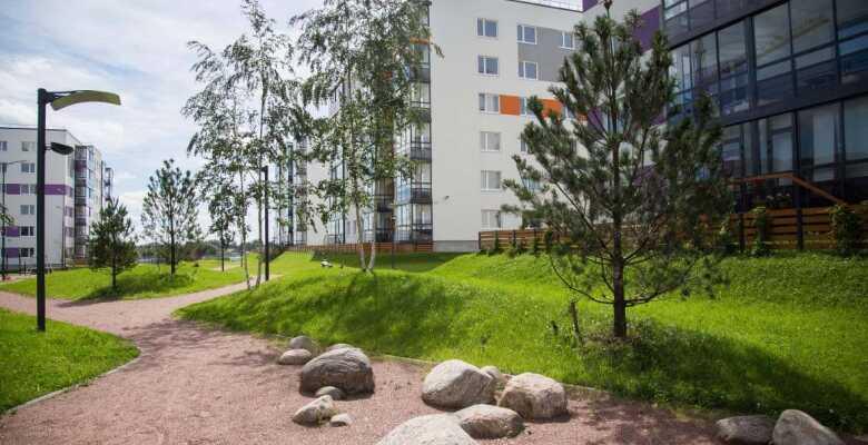 2-комнатные квартиры в ЖК Grona Lund (Грона Лунд)