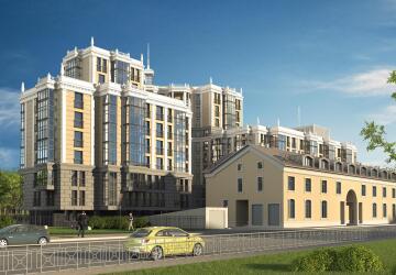 1-комнатные квартиры в ЖК Усадьба на Ланском