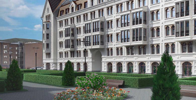 3-комнатные квартиры в ЖК Русский дом