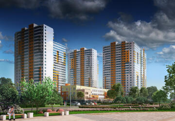 3-комнатные квартиры в ЖК Комендантский