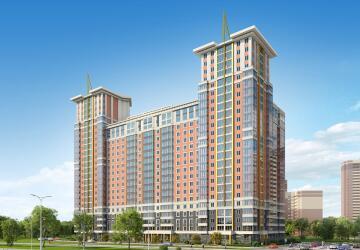 3-комнатные квартиры в ЖК Суворов