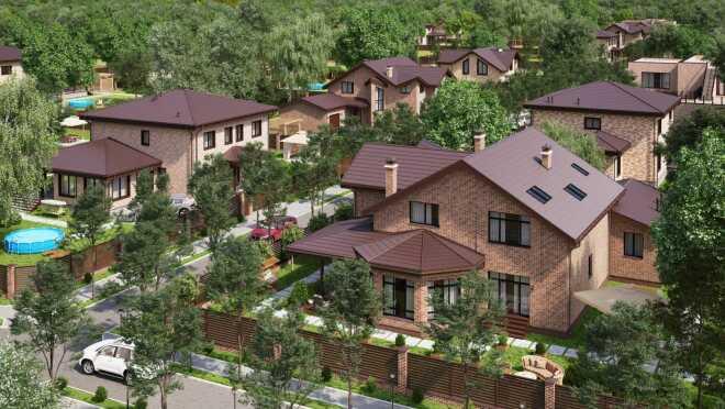 Коттеджный поселок Влондон