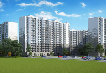 2-комнатные квартиры в ЖК Кудрово