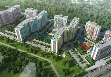 1-комнатные квартиры в ЖК Цвета радуги