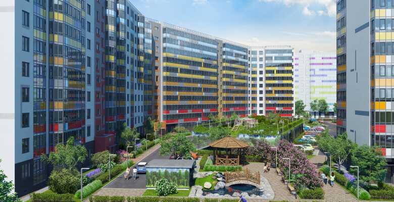 1-комнатные квартиры в ЖК All inclusive (Ол инклюзив)