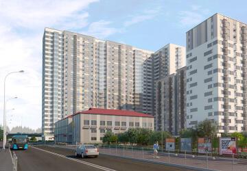 3-комнатные квартиры в ЖК Облака, Люберцы