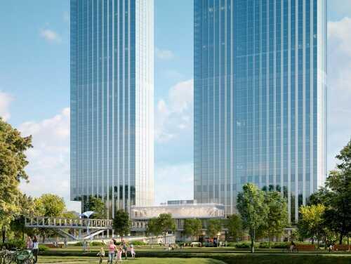 ЖК Capital Towers Квартиры в небоскребах на набережной