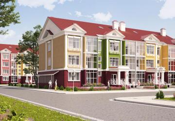 1-комнатные квартиры в ЖК Бакеево-парк, Бакеево
