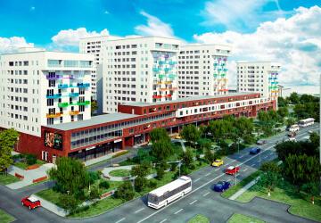 1-комнатные квартиры в ЖК Цветной Бульвар, Красково