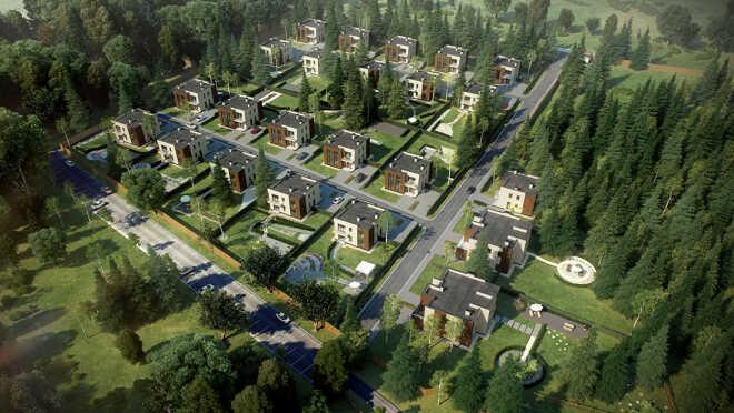 Коттеджный поселок Artwood