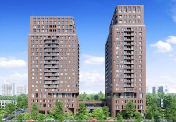 3-комнатные квартиры в ЖК Twin House (Твин Хаус), Люберцы