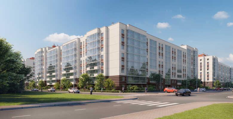 2-комнатные квартиры в ЖК Живи в Курортном